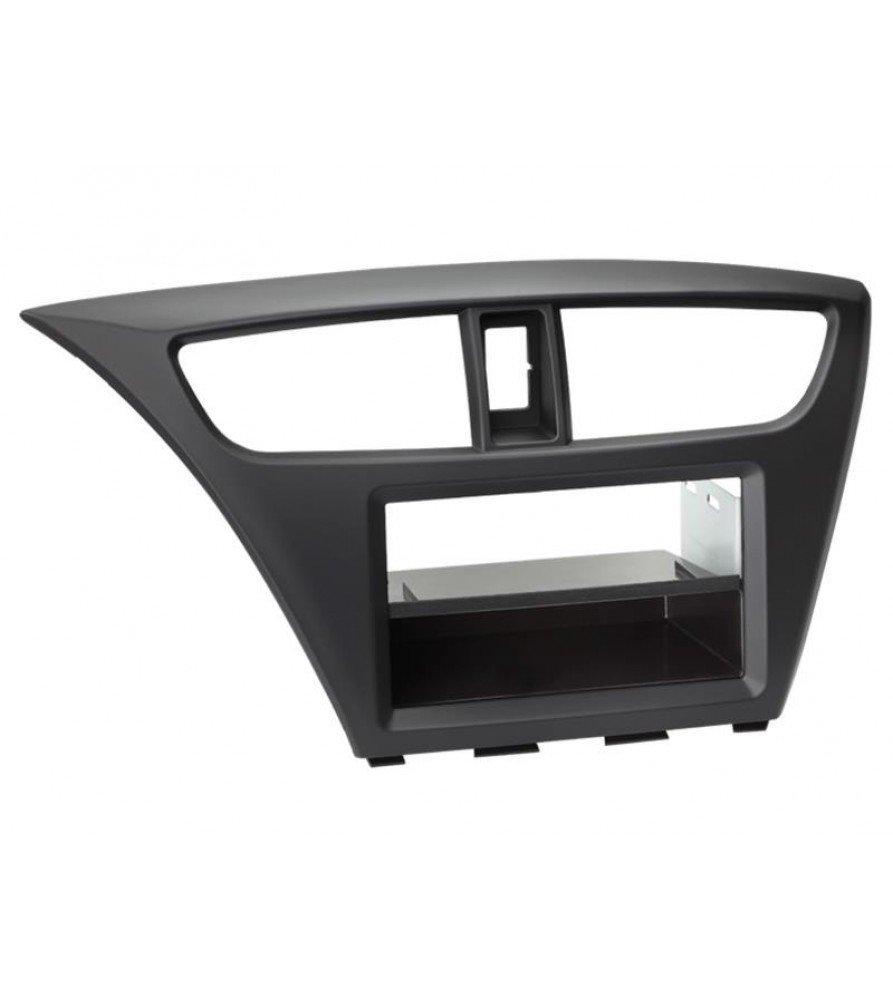 2-DIN Paneel Honda Civic 2012-2019 Kleur: Zwart