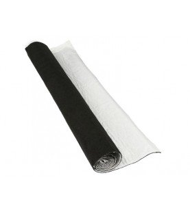 Bekledingsstof zelfklevend 70 x 140cm zwart