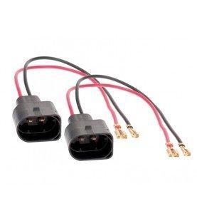 Speaker Adapter Kabel (2 x) Volkswagen Beeltle/ Golf 5/ Touran