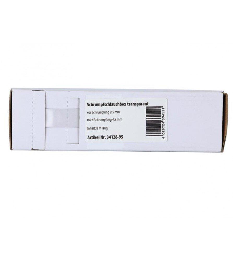 Krimpkous transparant Ø 9.5 mm / Lengte 8 meter