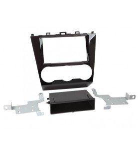 2-DIN Paneel met pocket Subaru Forester 2015-2018 Kleur: Piano Zwart