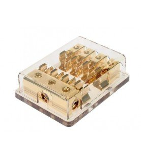 Fuse distribution block AGU 3 x 20 mm² in / 4 x 10 mm² out