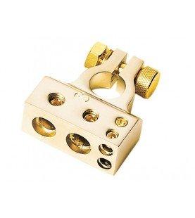 Batterij Behuizing / positive (goud ) 1 x 35 mm² /1 x 20 mm²/ 2x10mm