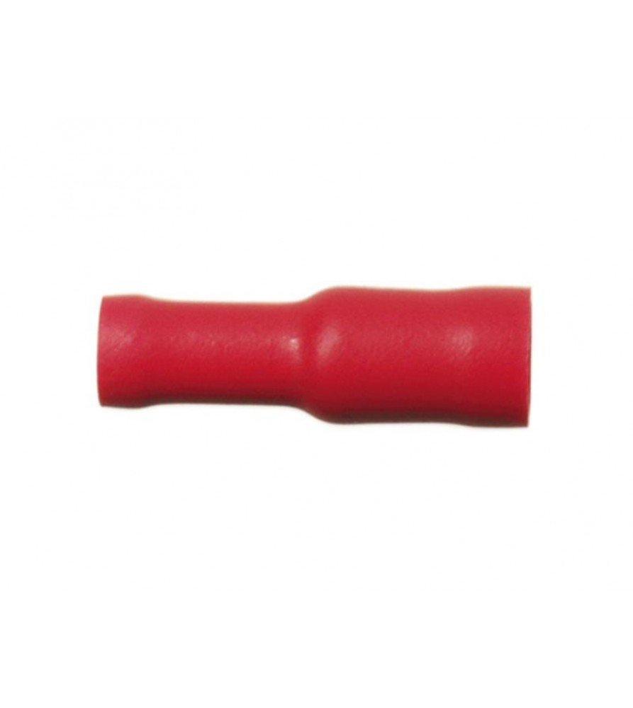 Kabelverbinder Female Rood 0.5 - 1.0 mm² (100 stuks)