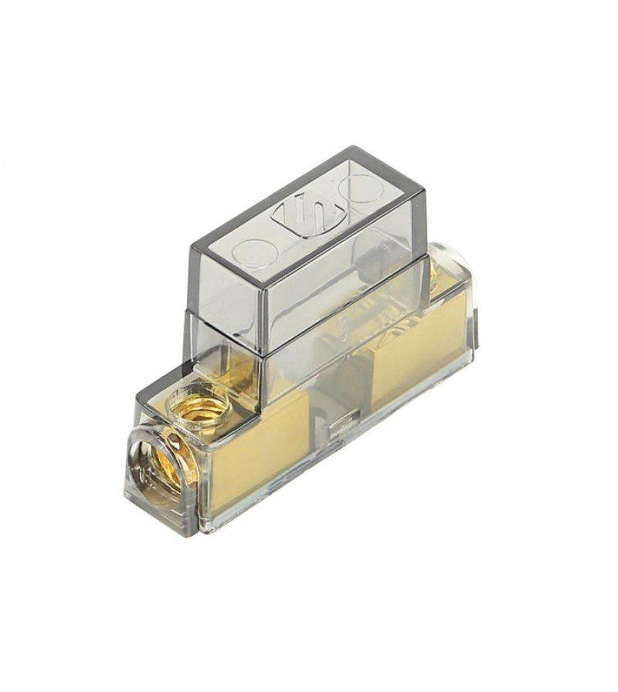 MAXI zekeringhouder (goud ) 10 mm² - 20 mm²  input