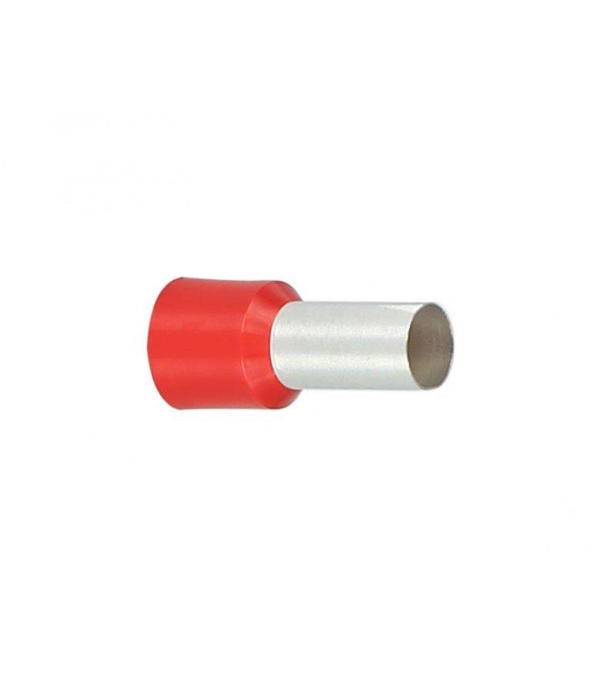Adereindhuls Rood 35.0 mm² (50 stuks)