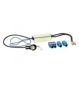 Antenne Adapter ISO 2x Fakra / Dubbel-Fakra Audi -Maserati -Scania -Skoda -Seat -Volkswagen