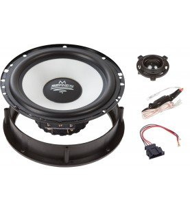 M-SERIE 165 mm 2-Way Special Front Volkswagen Golf 6/ Golf 7/ Scirocco Compo Systeem.